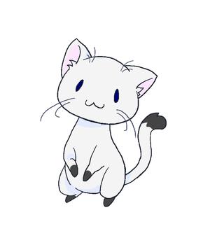 坐貓(站立)