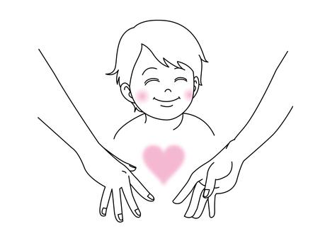 Children and love