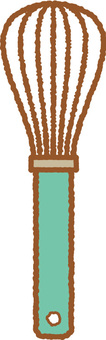 Kitchen utensils (whipper 1)