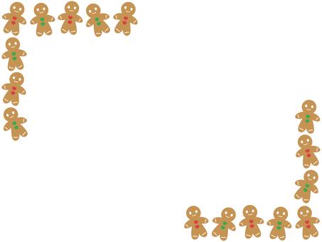 Gingerman Cookie Frame 2