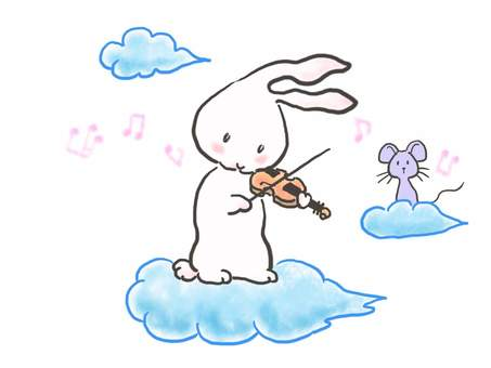 Violin rabbit 53