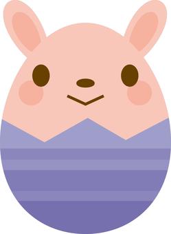 Easter egg Rabbit 2