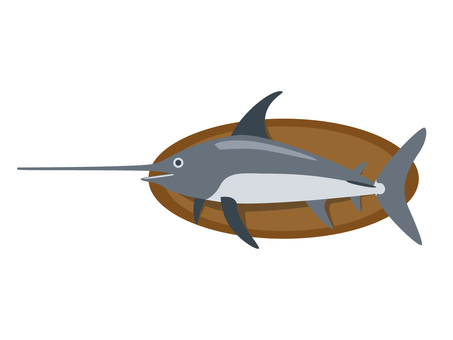 Swordfish wall decoration