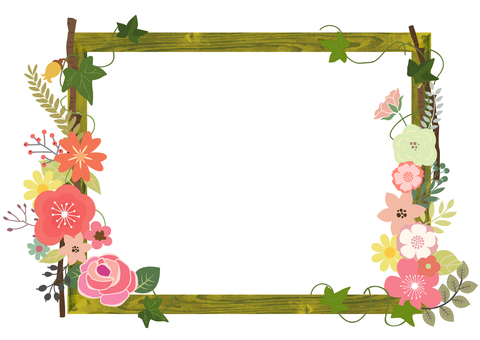 花装饰框架21
