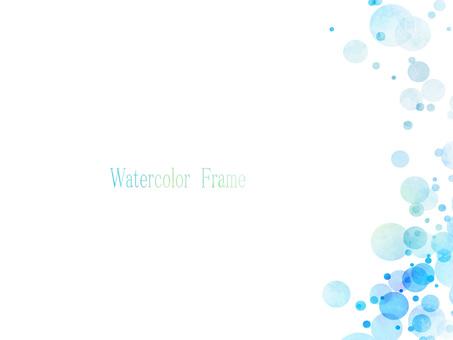 Watercolor frame ver 06