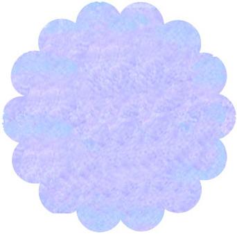 Watercolor flower frame purple
