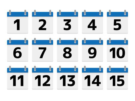 A102.Tear-off calendar 3