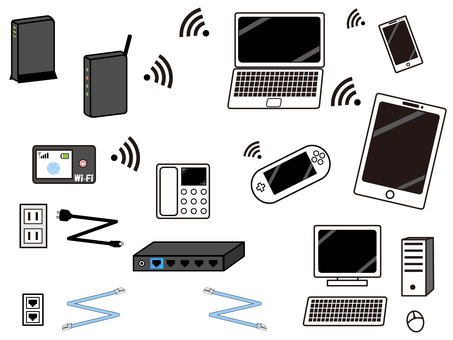 Electronic equipment set 2