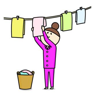 Laundry women pajamas