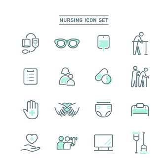 NURSING ICON SET