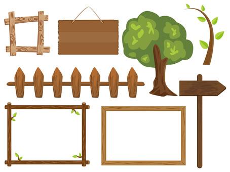 Wooden frame summary