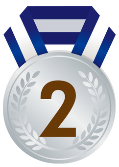 Silver medal 2nd place