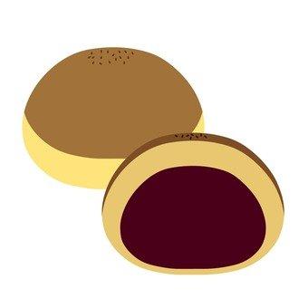 Chestnut monkey (section)