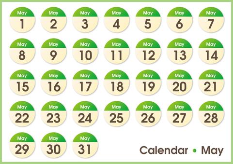 Calendar circs May