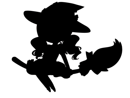 Halloween Witches Silhouette