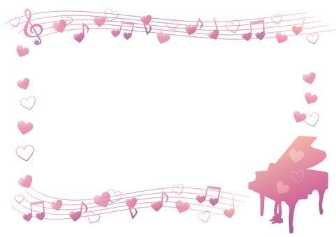 하트의 음악 프레임