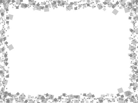 사각 프레임 (흑백)
