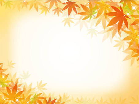 Autumn - autumn leaves background material