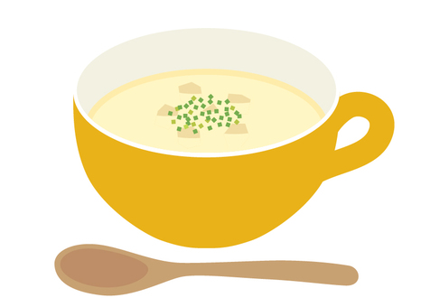 Soup potage soup