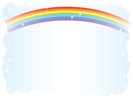 Rainbow frame 3