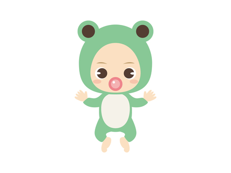 B067_Baby Clothes Baby_Frog