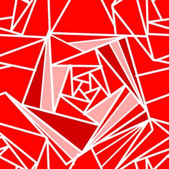 Rose pattern (background color transparent)