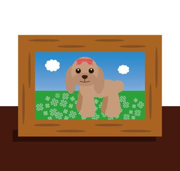 Photo stand (pet · dog)