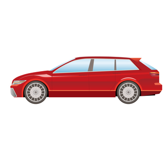 Car side 7 station wagon