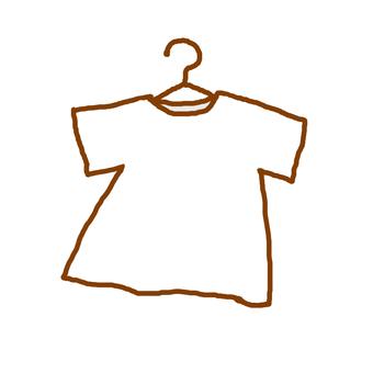 Hangered shirt