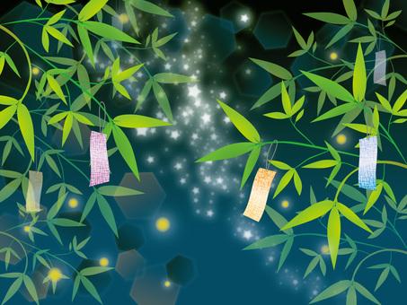 Tanabata night, Milky Way