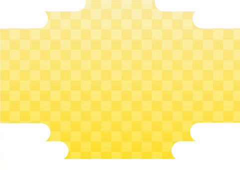 Checkered pattern (gold / sky)
