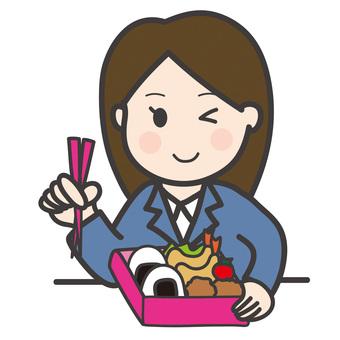 午餐盒_ OL