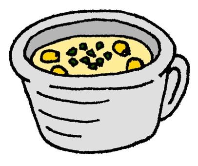 玉米potage