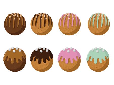 ドーナツチョコレートボール