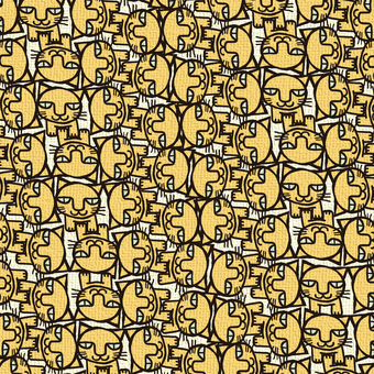 Tatami pattern of cat 011