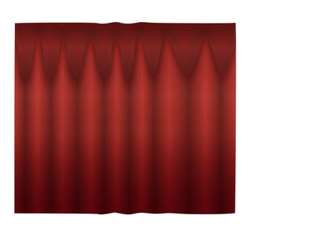 Curtain (red)