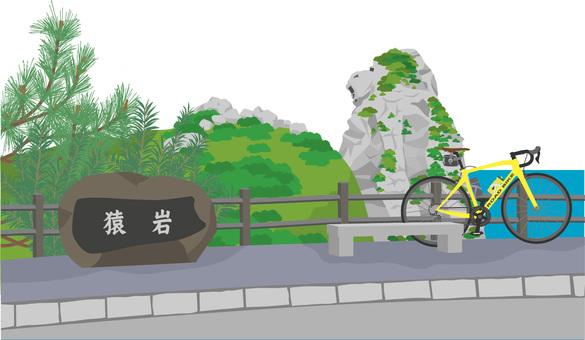 Monkey rock and road bike 3