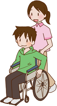 【Rehabilitation】 Wheelchair / nursing care