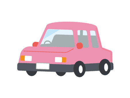 Car Vehicle Passenger Car Pink