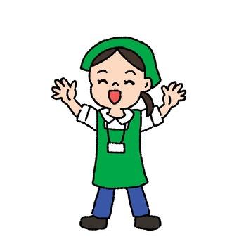 Working person ~ Clerk
