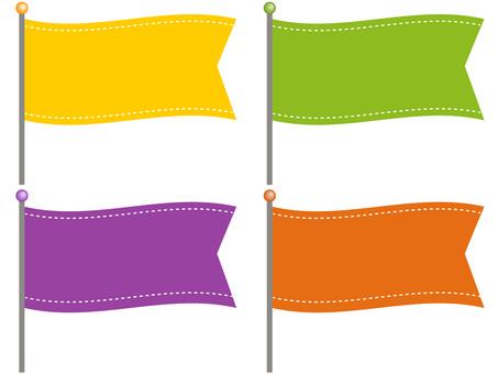 61004.旗,横長3