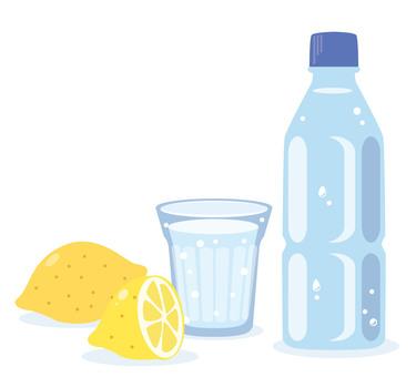 Hydration sports drink illustration