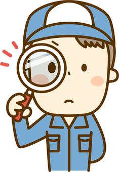 A mechanic to check