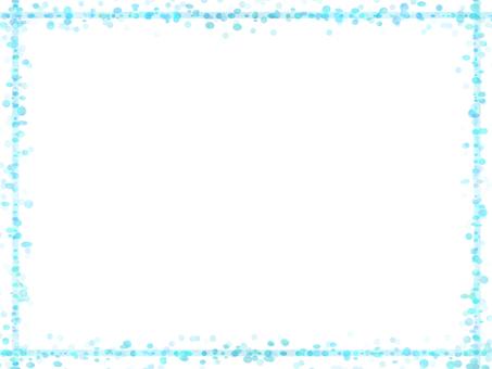 Dot frame 3 (light blue)