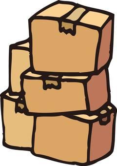 Cardboard, Moving