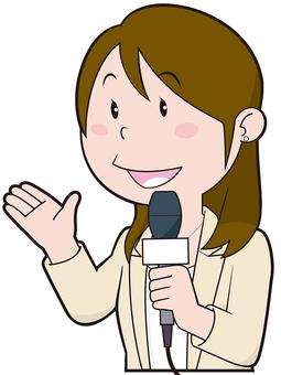 Reporter (female)
