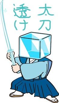 Transparent sword