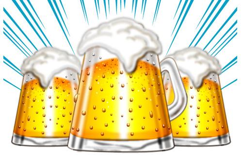 Beer toast B