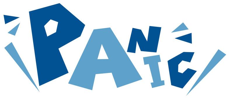 PANIC panic ☆ Fear ☆ POP logo