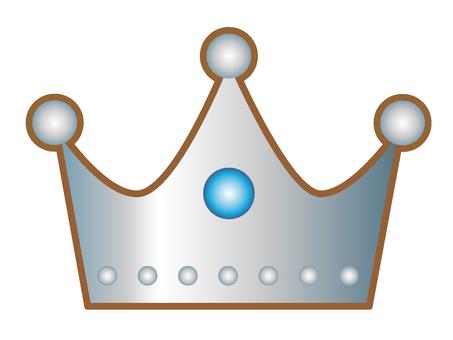 Crown _ silver